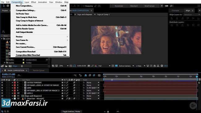 آموزش تصویری پریمیر پرو premiere pro tutorial 2019 chapter