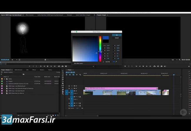 آموزش نرم افزار پریمیر premiere pro Creating freeze frames stills