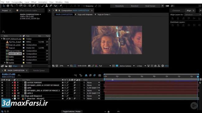 فیلم آموزش پریمیر premiere announcement UI differences